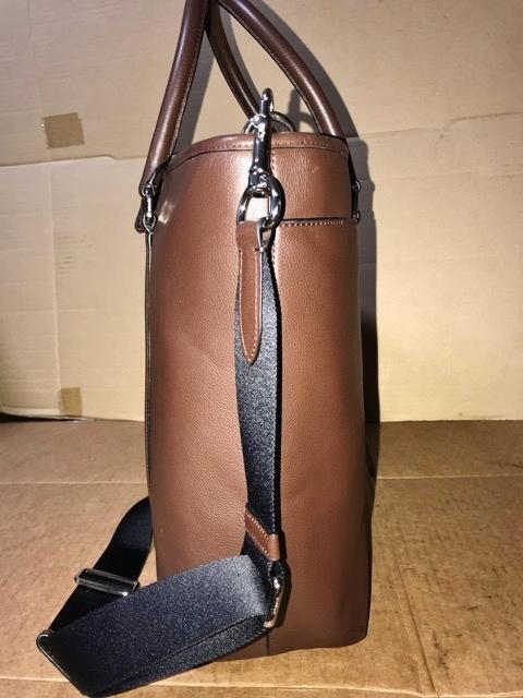美品 約12万円 コーチ coach メンズ ブリーフケース ビジネスバッグ レザー 革 ショルダーブリーフ 紳士 バッグ bag 大容量 通勤 バッグ_画像3