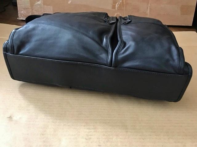 良品 TUMI トゥミ テュミ 革 本革 レザー ビジネスバッグ ブリーフケース レザーバッグ ショルダーバッグ 通勤 メンズ バッグ ブラック USA_画像5