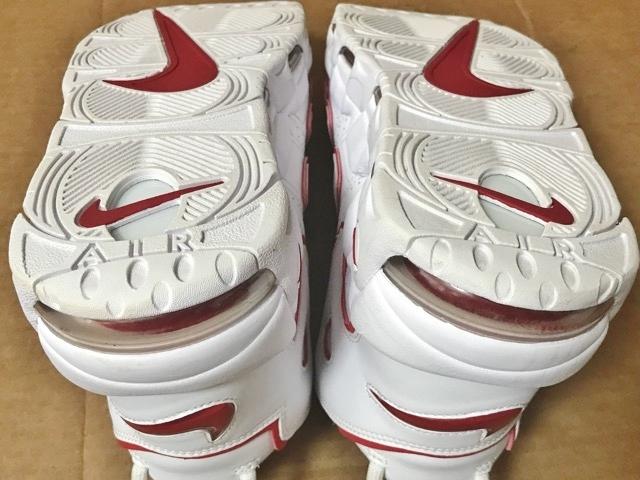 2018 ナイキ NIKE air more uptempo シカゴ ブルズ カラー エア モアアップテンポ モアテン エアモアアップテンポ スニーカー 靴 bulls 赤_画像7