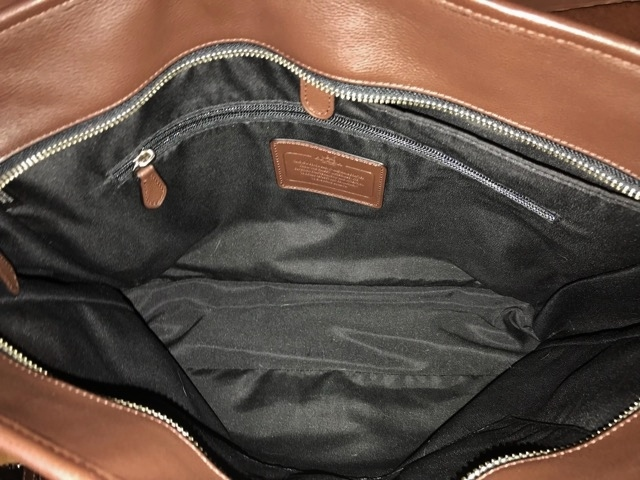 美品 約12万円 コーチ coach メンズ ブリーフケース ビジネスバッグ レザー 革 ショルダーブリーフ 紳士 バッグ bag 大容量 通勤 バッグ_画像2