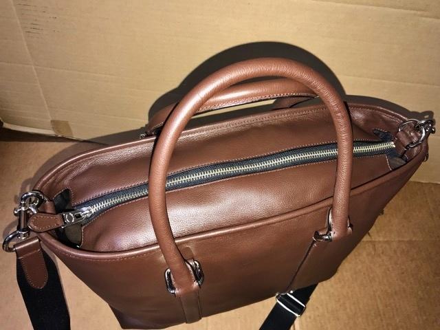 美品 約12万円 コーチ coach メンズ ブリーフケース ビジネスバッグ レザー 革 ショルダーブリーフ 紳士 バッグ bag 大容量 通勤 バッグ_画像5