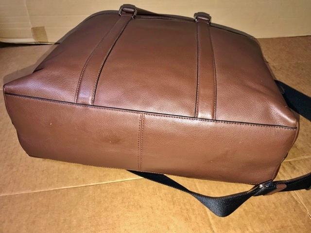 美品 約12万円 コーチ coach メンズ ブリーフケース ビジネスバッグ レザー 革 ショルダーブリーフ 紳士 バッグ bag 大容量 通勤 バッグ_画像6