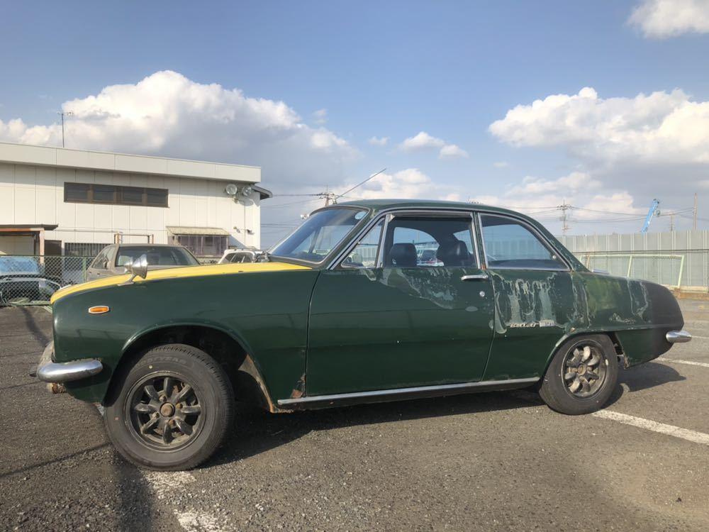旧車 いすゞ ベレット 1600GT PR91 44年 エンジン始動確認済 書類有り レストアベース 部品取り 引き取り希望_画像4