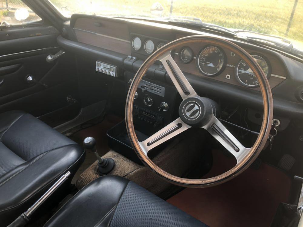 旧車 いすゞ ベレット 1600GT PR91 44年 エンジン始動確認済 書類有り レストアベース 部品取り 引き取り希望_画像7