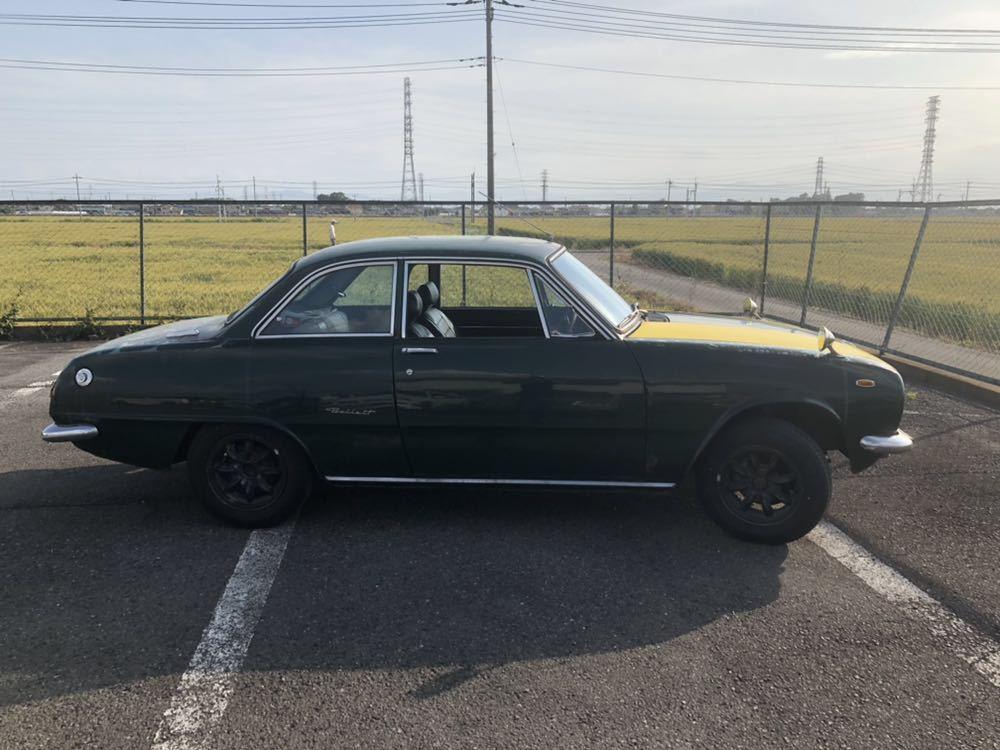 旧車 いすゞ ベレット 1600GT PR91 44年 エンジン始動確認済 書類有り レストアベース 部品取り 引き取り希望_画像3