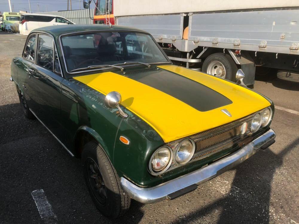 旧車 いすゞ ベレット 1600GT PR91 44年 エンジン始動確認済 書類有り レストアベース 部品取り 引き取り希望