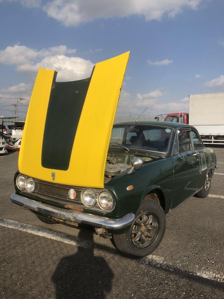 旧車 いすゞ ベレット 1600GT PR91 44年 エンジン始動確認済 書類有り レストアベース 部品取り 引き取り希望_画像10