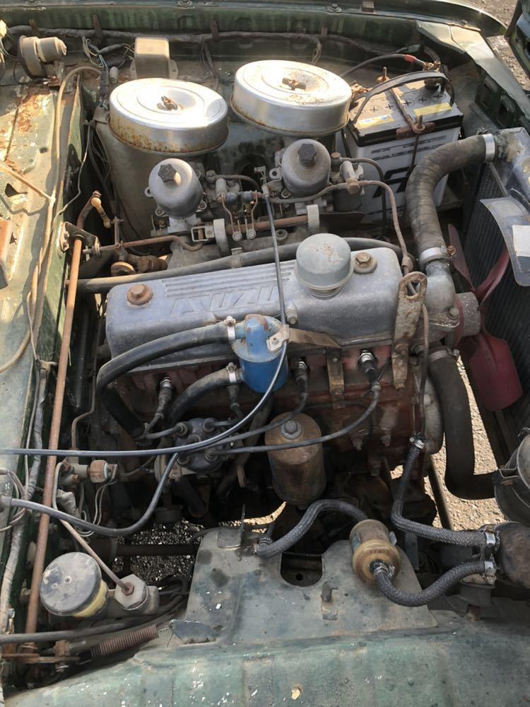 旧車 いすゞ ベレット 1600GT PR91 44年 エンジン始動確認済 書類有り レストアベース 部品取り 引き取り希望_画像5
