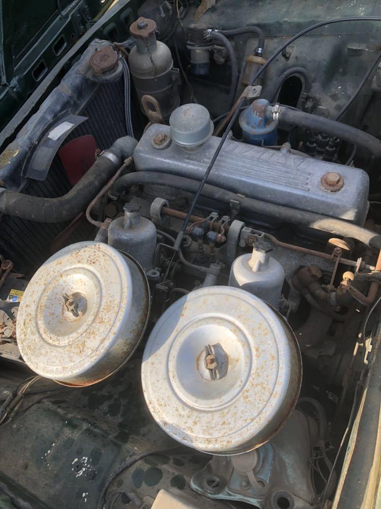 旧車 いすゞ ベレット 1600GT PR91 44年 エンジン始動確認済 書類有り レストアベース 部品取り 引き取り希望_画像6