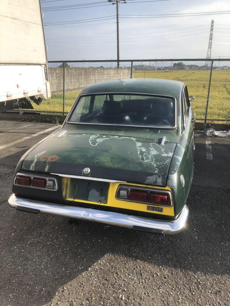 旧車 いすゞ ベレット 1600GT PR91 44年 エンジン始動確認済 書類有り レストアベース 部品取り 引き取り希望_画像2