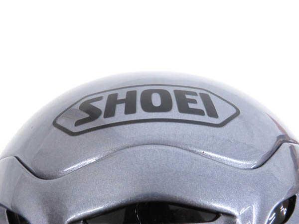 1円 未使用 ショウエイ X-9 フルフェイス ヘルメット バイク用品 sizeL パールグレーメタリックカラー HJ529_画像9