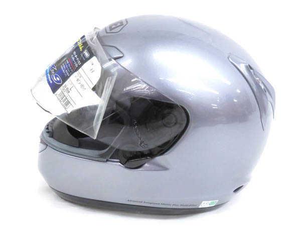 1円 未使用 ショウエイ X-9 フルフェイス ヘルメット バイク用品 sizeL パールグレーメタリックカラー HJ529_画像5
