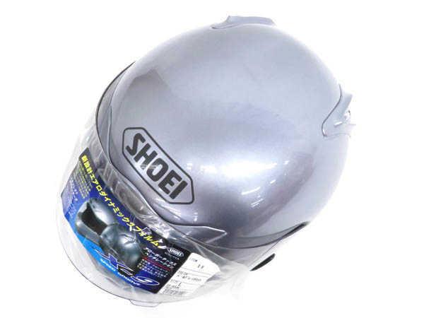 1円 未使用 ショウエイ X-9 フルフェイス ヘルメット バイク用品 sizeL パールグレーメタリックカラー HJ529_画像4