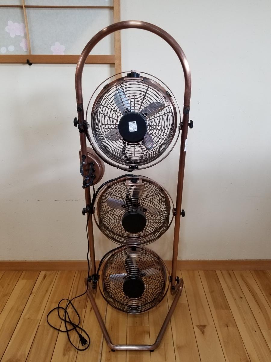 メタル扇風機 中古品 ドウシシャ KBM-2381_画像2