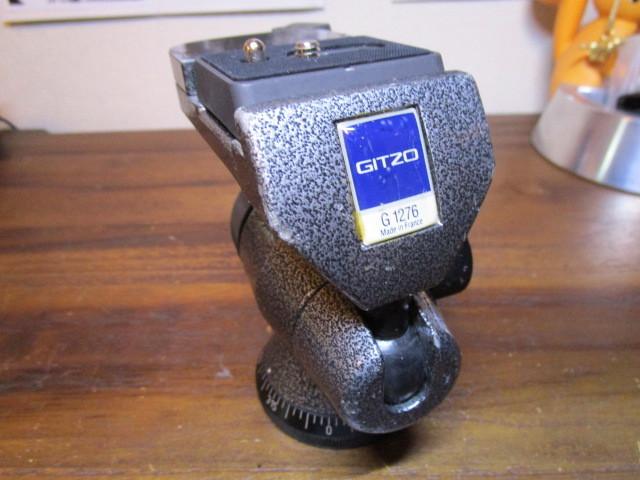Gitzo ジッツオ G1276 雲台 マグネシウム off-center ボールヘッド