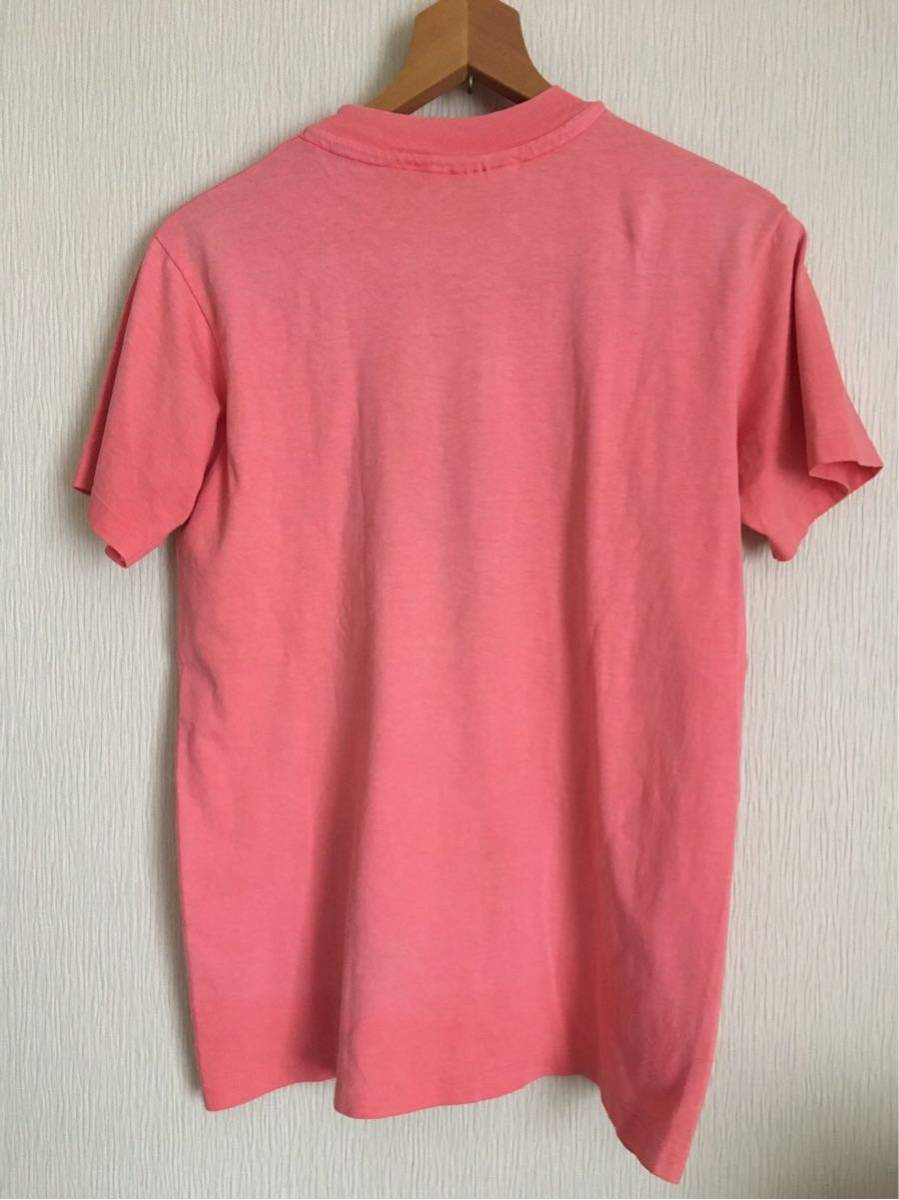80s エルエルビーン L.L.Bean Tシャツ hanes BEEFY ビンテージ レア 筆記体ロゴ Patagonia Levi's 状態良好 MADE IN USA アメリカ製_画像2