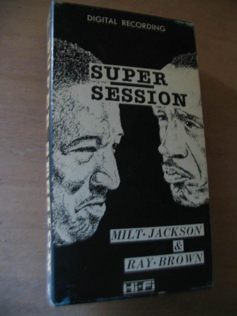 VHS video /SUPER SESSION/MILT JACKSON/RAY BROWN