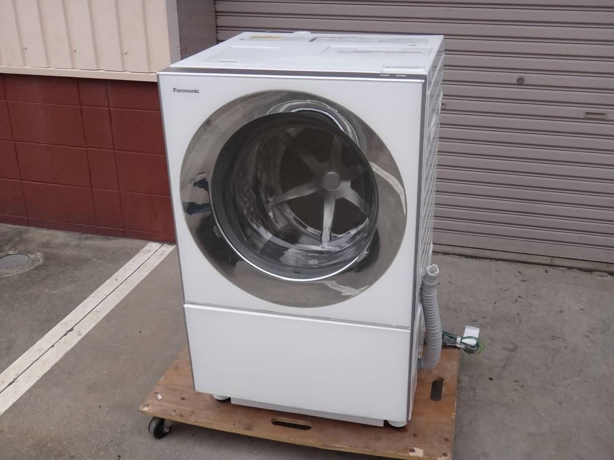 美品◆パナソニック Cuble( キューブル) ドラム式洗濯機 10.0kg NA-VG1100L 左開き◆税込