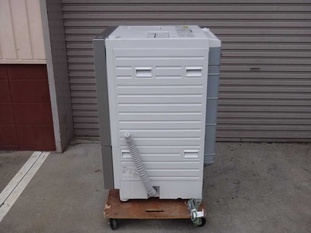 美品◆パナソニック Cuble( キューブル) ドラム式洗濯機 10.0kg NA-VG1100L 左開き◆税込_画像4