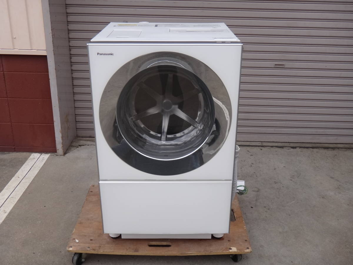 美品◆パナソニック Cuble( キューブル) ドラム式洗濯機 10.0kg NA-VG1100L 左開き◆税込_画像2