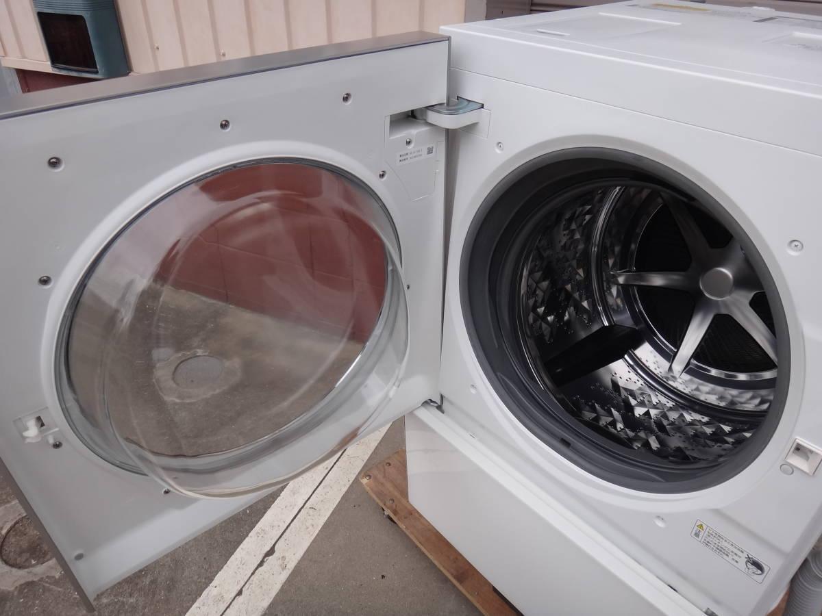 美品◆パナソニック Cuble( キューブル) ドラム式洗濯機 10.0kg NA-VG1100L 左開き◆税込_画像7