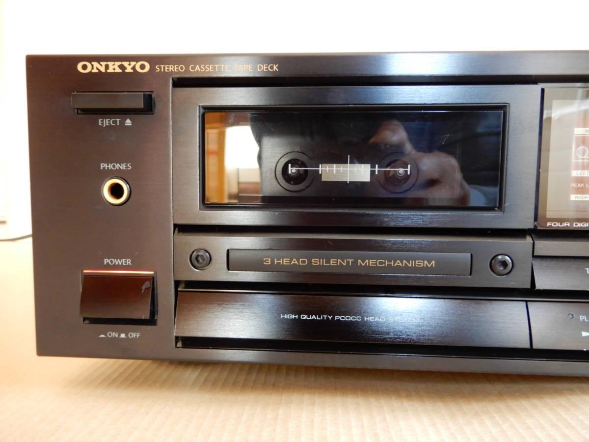 オンキョーステレオカセットテープデッキintegra -701_画像3