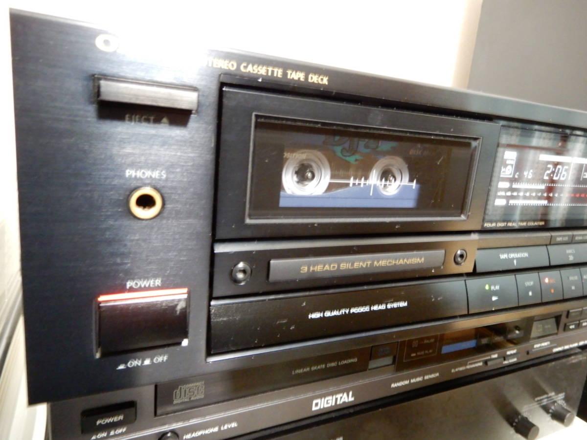 オンキョーステレオカセットテープデッキintegra -701_画像6