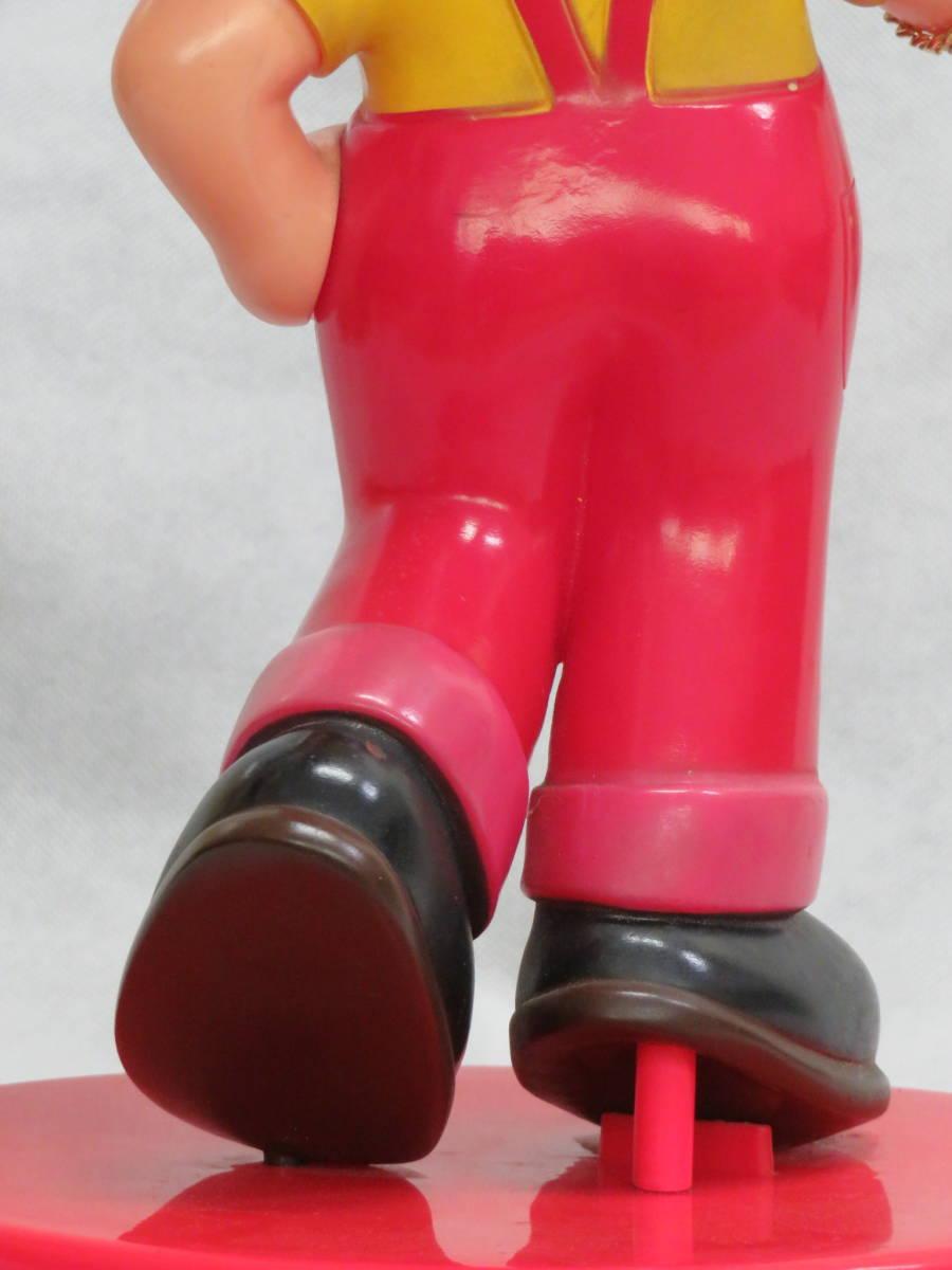 ★人気者♪ウオッチング ペコちゃん人形 懐中時計 非売品 抽プレ 不二家 ポコちゃん 当時物 骨董 昭和レトロ_画像6