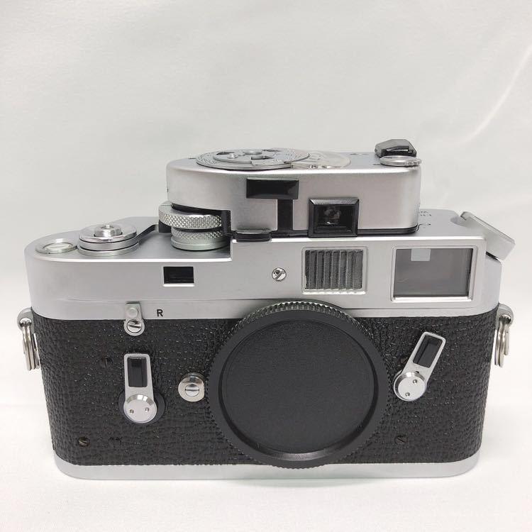動作品 ライカ LEICA M4 カメラ LEITZ TELE-ELMARIT-M 1:2.8/90 ライカメーターMR フィルター付き R阿0515_画像2