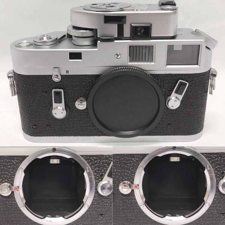 動作品 ライカ LEICA M4 カメラ LEITZ TELE-ELMARIT-M 1:2.8/90 ライカメーターMR フィルター付き R阿0515_画像3