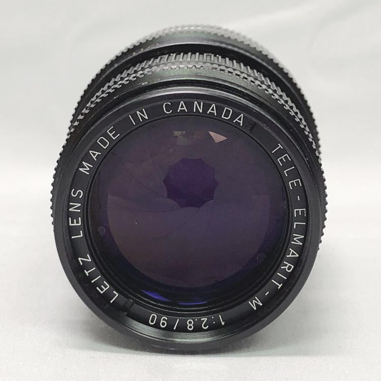 動作品 ライカ LEICA M4 カメラ LEITZ TELE-ELMARIT-M 1:2.8/90 ライカメーターMR フィルター付き R阿0515_画像7