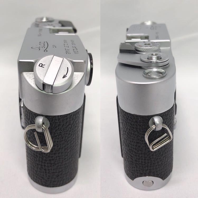 動作品 ライカ LEICA M4 カメラ LEITZ TELE-ELMARIT-M 1:2.8/90 ライカメーターMR フィルター付き R阿0515_画像4