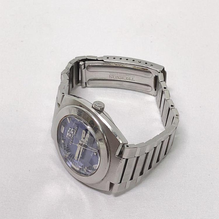 稼働 TECHNOS テクノス Kaiser カイザー メンズ 自動巻き 腕時計 R尼0520_画像8