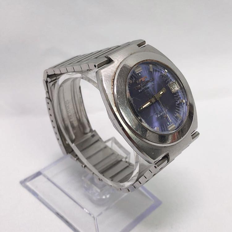 稼働 TECHNOS テクノス Kaiser カイザー メンズ 自動巻き 腕時計 R尼0520_画像2