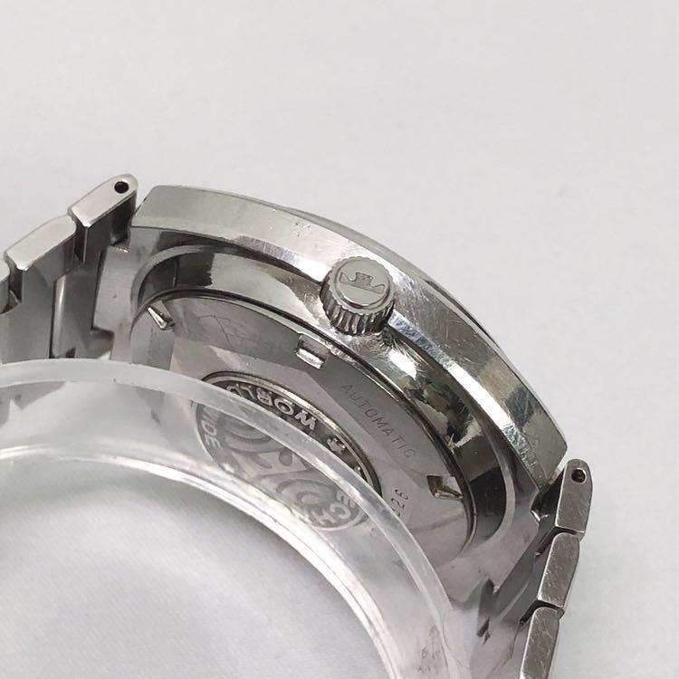 稼働 TECHNOS テクノス Kaiser カイザー メンズ 自動巻き 腕時計 R尼0520_画像4