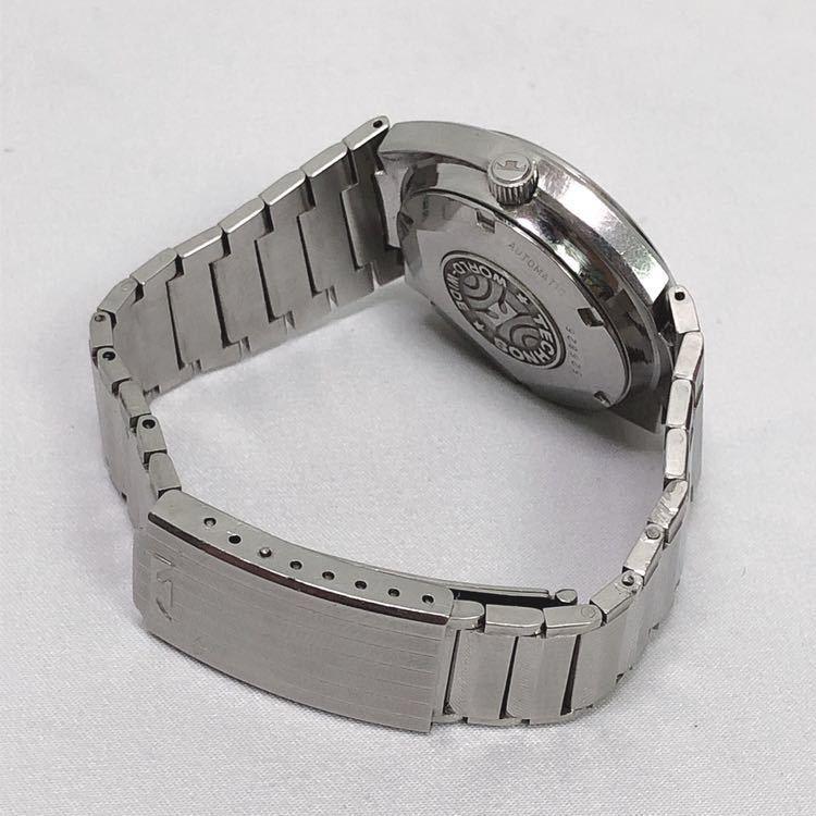 稼働 TECHNOS テクノス Kaiser カイザー メンズ 自動巻き 腕時計 R尼0520_画像7