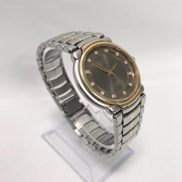 CITIZEN/シチズン EXCEED エクシード EUROS ユーロス 5639-F60935Y クォーツ メンズ 腕時計 R中0520_画像3