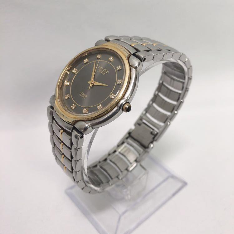 CITIZEN/シチズン EXCEED エクシード EUROS ユーロス 5639-F60935Y クォーツ メンズ 腕時計 R中0520_画像4