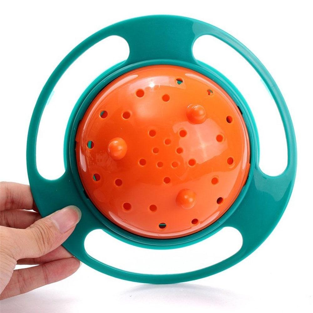 ドライブに最適 クルクル回る 360° 傾けてもこぼれない ローリングボウル キッズ 食器 ボール 器☆_画像3