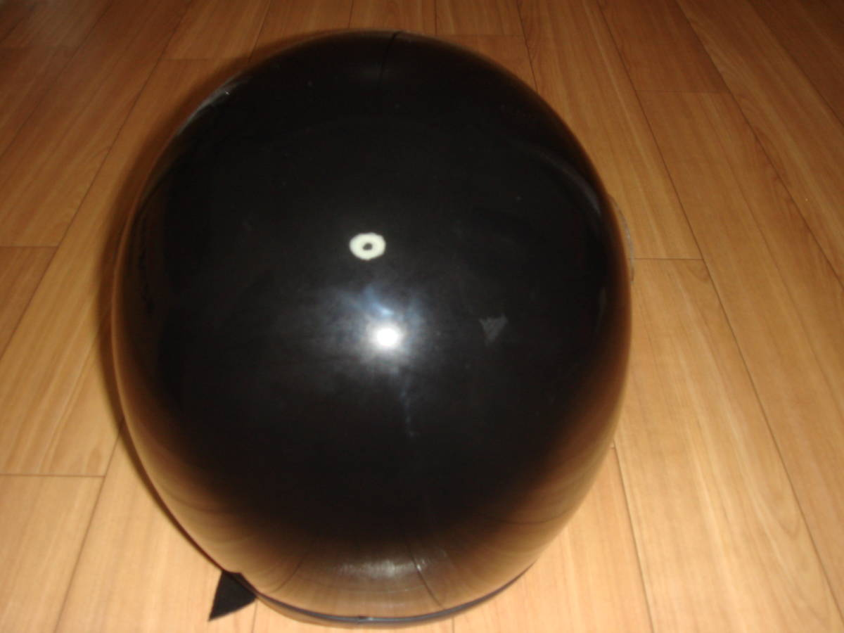 HORIZON 族ヘル 旧車 当時物 ヘルメット サイズL ブラック 美品_画像4