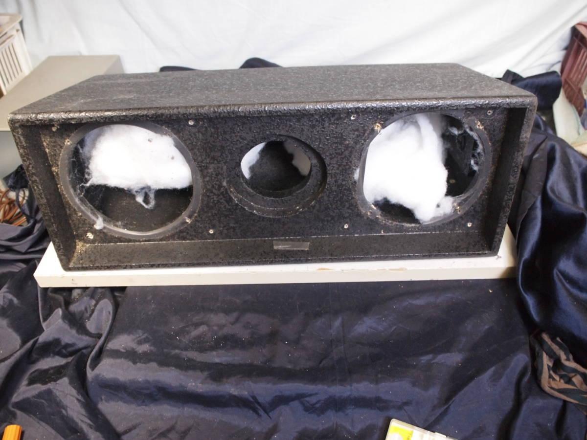 アンダーバルコニー システム ALTEC DTS99(ペア 37600円) スピーカーを外した箱だけ2本傷あり_画像1