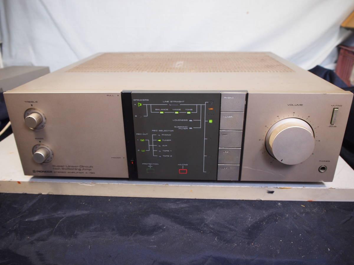 パイオニア Pioneer  プリメイン・アンプ A-780 完動品【3ヶ月保証】90520_画像1