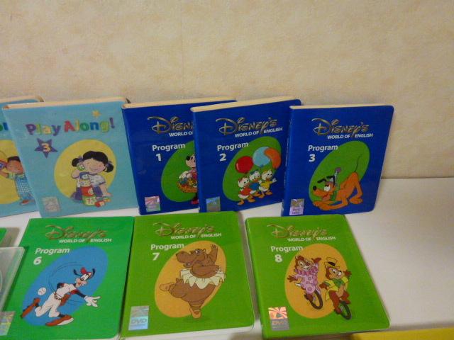 ワールドファミリー DWE ディズニー英語システム DVD CDなど一括_画像5