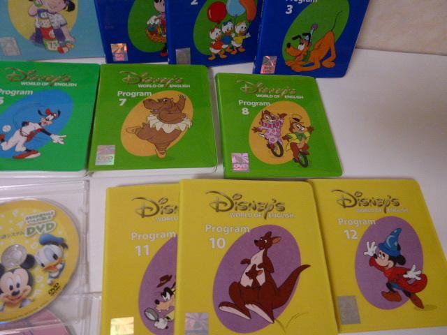 ワールドファミリー DWE ディズニー英語システム DVD CDなど一括_画像4