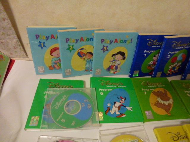 ワールドファミリー DWE ディズニー英語システム DVD CDなど一括_画像6