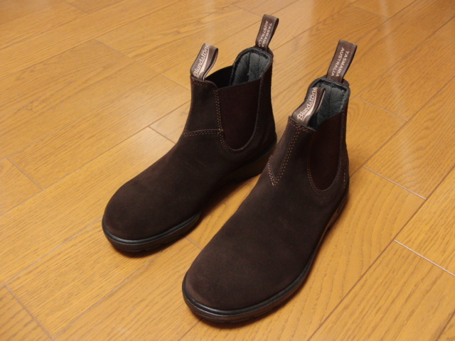 Blundstone ブランドストーン/side gore boots #1458 dark chocolate UK7 25.5㎝ 美品
