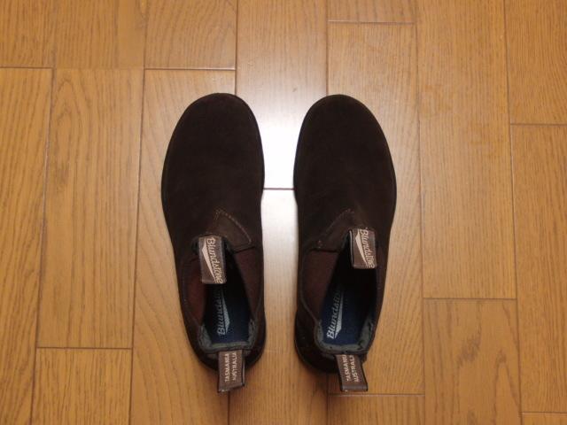 Blundstone ブランドストーン/side gore boots #1458 dark chocolate UK7 25.5㎝ 美品_画像2