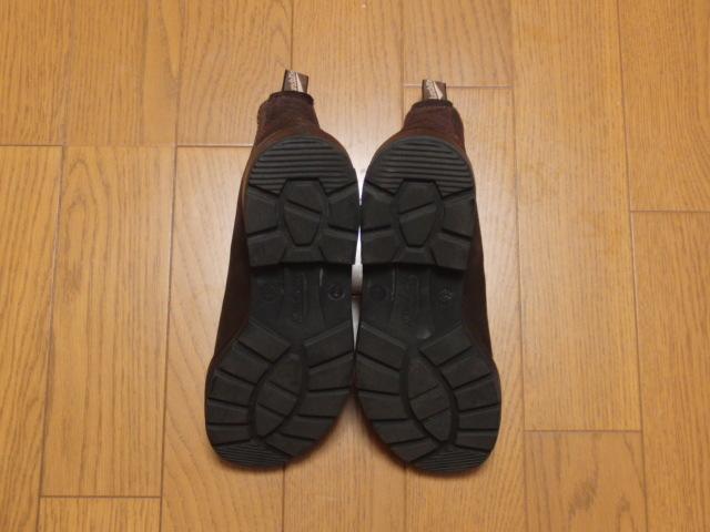 Blundstone ブランドストーン/side gore boots #1458 dark chocolate UK7 25.5㎝ 美品_画像3