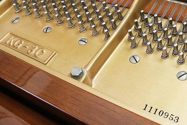 ♪SALE♪ グランドピアノ カワイ KG-3C(1979年製)★ピアノ専門店にて調律/調整/クリーニング【試弾動画あり】_画像9