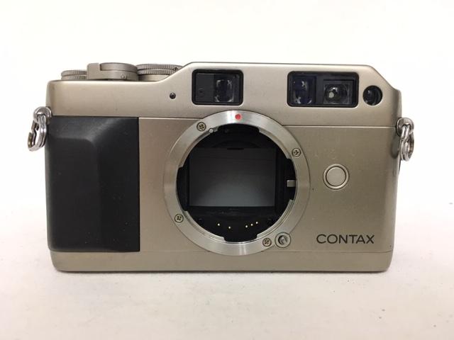 【大黒屋】激安1円~ CONTAX コンタックス 一眼レフ フィルムカメラ G1 レンズ Carl Zeiss Planar 2/45 フラッシュ TLA140 中古ジャンク品_画像3